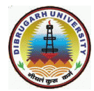 Dibrugarh University - DU Logo - JPG, PNG, GIF, JPEG